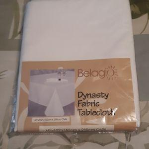 Bellagio Dynasty Fabric Tablecloth